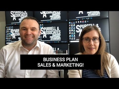 Edmonton Business Coach | Business Plan Sales & Marketing Section