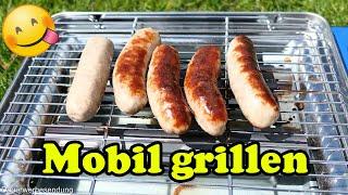 "Lecker grillen - Mobiler Camping Gasgrill ""Evergrill"" im Test"