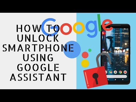 How To Unlock Smartphone Using Google Assistant | [Hindi Audio]