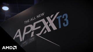 Boxx Technologies T3 Threadripper Workstation and AMD Radeon Pro WX 9100 GPU