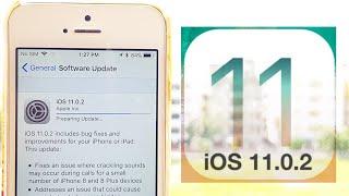 iOS 11.0.2 on iPhone 5s
