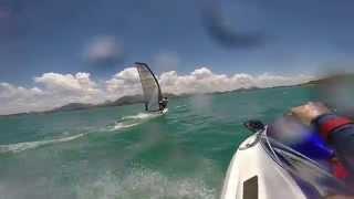 Windsurf em Praia de Santa Mônica, Guarapari