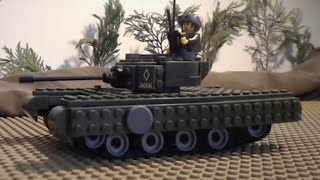 "lego ww2: ""JACKAL"" (An animation inspired by Fury and World of Tanks)"