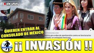Ursurpadora Esta Arrestando Mexicanos  En Bolivia:Quieren Tomar El Condulado Mexicano Ebrad Responde