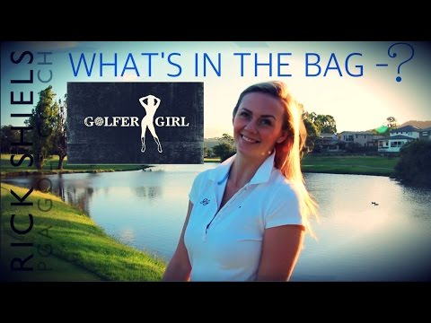 GOLFER GIRL – WHAT'S IN THE BAG?