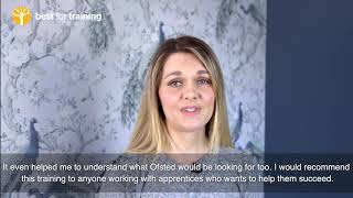 See how this qualification helped Hannah to support her apprentices with their EPA