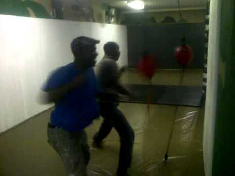 South African Mayhem fight training.3GP