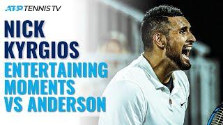 Brilliant Nick Kyrgios Entertainment vs Anderson | Atlanta 2021 Highlights