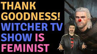 Witcher TV Show Creator Vs Angry Joe & Thankfully The Show Is Feminist!