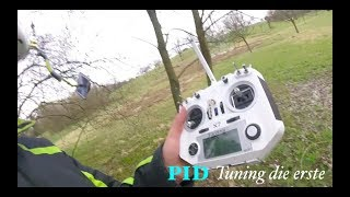 FPV Drone Racing Freestyle How to PID German KISS FC V1 deutsch--Amaxinno Freestyle 5zoll---