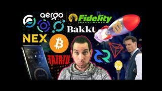 Fidelity to Bring $360 Billion (or more) to Crypto?!? HTC Blockchain Phone | Johnny Depp x TaTaTu