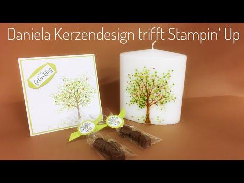 Anleitung Lebensbaum Geschenkset mit Stampin Up Produkten
