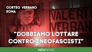 Roma, corteo per Verbano, l'antifascismo tra memoria e lotta