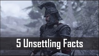 Skyrim: 5 Hidden and Unsettling Facts That you May have Missed in The Elder Scrolls 5