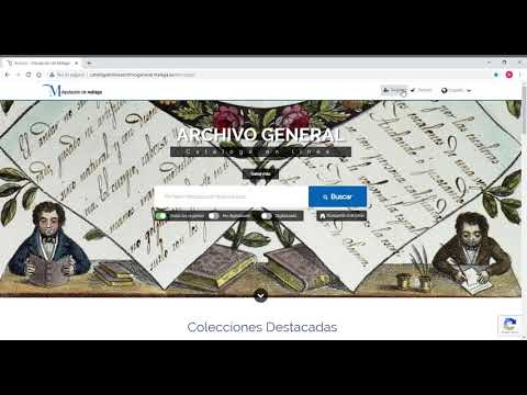 Catálogo online Archivo General