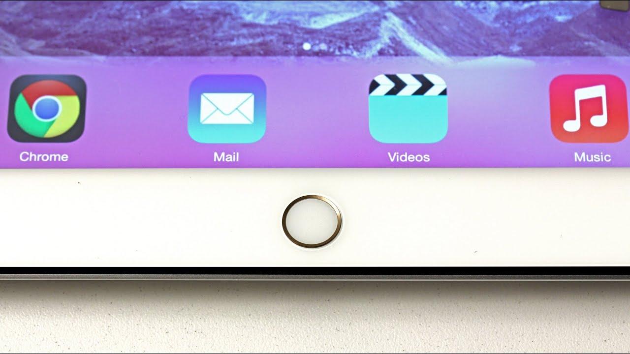 iPad 5 / iPad Mini 2 to feature fingerprint sensor? thumbnail
