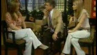 Maura dans Regis et Kelly, 2007