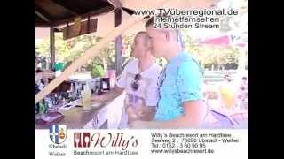 preview picture of video 'Willy´s Beachresort Teil 4   Purer Urlaub in Ubstadt   Weiher'