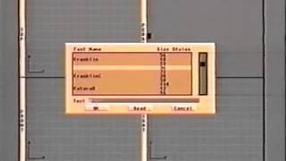 Imagine 2.0 - The Detail Editor - Commodore Amiga