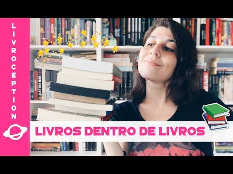 LIVROCEPTION: os incríveis livros DENTRO de livros! ??| BOOK GALAXY