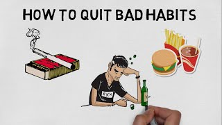 HOW TO GET RID OF BAD HABITS IN HINDI - THE POWER OF HABITS ANIMATED BOOK SUMMARY