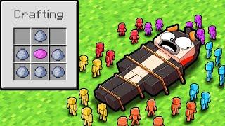 5 Player CLAY SOLDIERS Medieval War! (Minecraft)