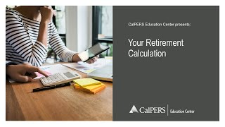Your Retirement Calculation