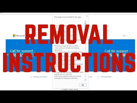 YOUR COMPUTER HAS BEEN BLOCKED Virus - How to Remove It