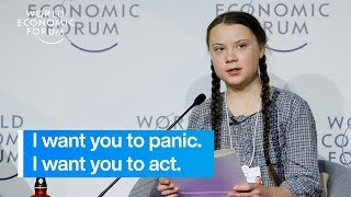 Greta Thunberg: Our House Is On Fire