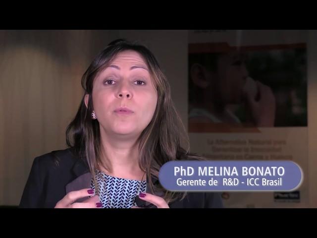 Dr. Melina Bonato detalla la importancia de los nucleótidos em la alimentación de nuestras aves.