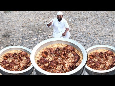 Full Chicken Mandhi Recipe | Arabian Mandhi rice | Traditional Mandi Recipe | Nawabs kitchen