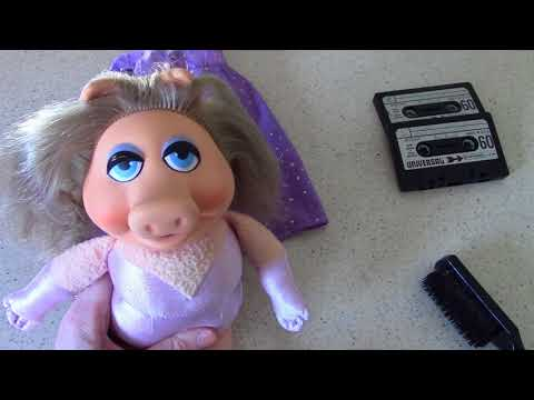 terrific tv toys miss piggy plush doll by fisher price