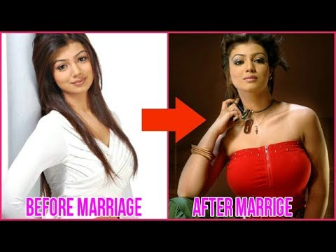 Oops ! bra size increase after marriage bollywood actresses/must watch