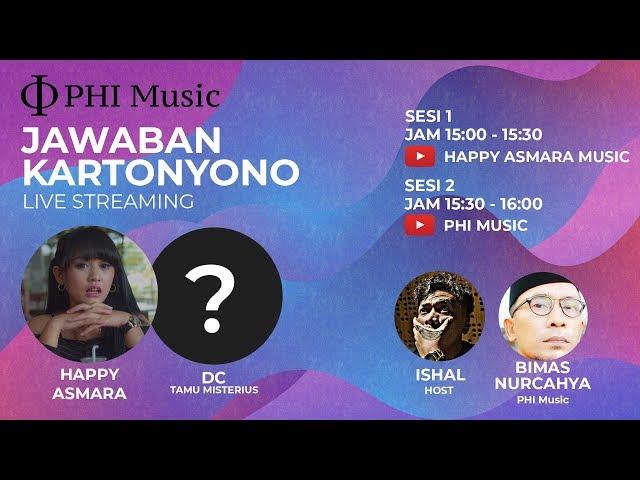 Live Streaming Happy Asmara Klarifikasi Jawaban Kartonyono