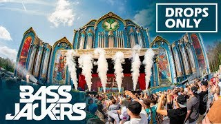 [Drops Only] Bassjackers at Tomorrowland 2018 W2 (Smash The House Stage)