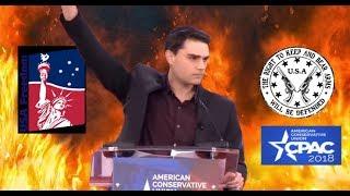 Ben Shapiro *ON FIRE* 🔥 Su Mejor Speech en CPAC 2018 🔥 Completo.-