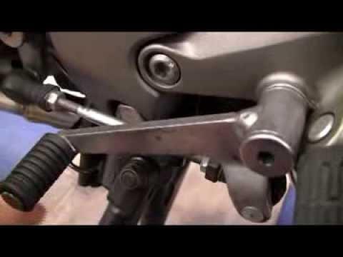 Motorrad Schalthebel