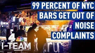 Noisy Bars in NYC Avoid Fines 99 Percent of the Time