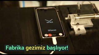 Vestel City fabrika turu başladı! - Telefonlar nasıl üretiliyor? - dooclip.me