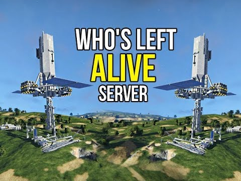 Space Engineers - Who's Left Alive On The Server