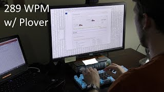 289 WPM in TypeRacer Using Plover Steno + How-To Guide