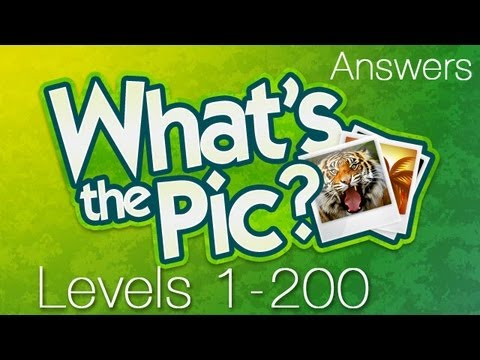 What's the Pic? Levels 1-200 Answer for iOS