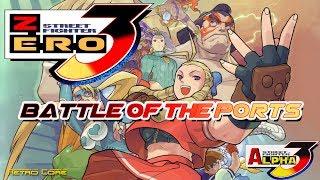 Battle of the Ports - Street Fighter Zero 3 / Alpha 3 (ストリートファイターZERO 3) Show #199 - 60fps