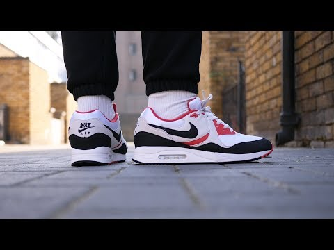Most Underrated? Nike Air Max Light OG Quick Look & On Feet (White, Back + Sport Red)