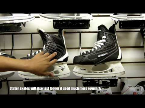 How To Select Your First Pair Of Ice Hockey Skates Important Facts For Beginners (Stiffness)