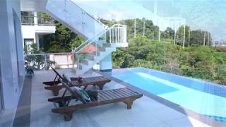 Exclusive Three Bedroom Kata Pool Villa with Panoramic Views of Chalong Bay