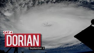 Views of Hurricane Dorian from the International Space Station - September 2, 2019