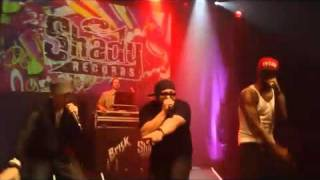 Eminem, Yelawolf  & Slaughterhouse Perform  2.0 Boys Live In Detroit