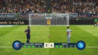 PSG vs NAPOLI | Penalty Shootout | PES 2019 Gameplay PC