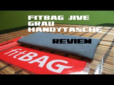 FitBag Jive Grau Handytasche Nexus 4 [German/HD]